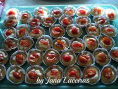 Cupcake salgado: Jana Laceiras - Espaço das delícias culinárias