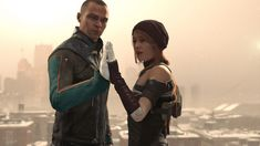 Detroit become human Markus and North
