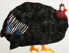 the art room plant: Miroco Machiko II Illustration Artists, Children's Book Illustration, Chicken Art, Bird Artwork, Arte Popular, Naive Art, Illustrations And Posters, Animal Illustrations, Japanese Artists