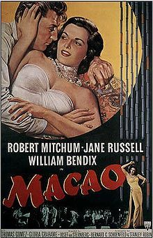 """Wonderful movie with some great chemistry between Robert Mitchum and Jane Russell (and a lovely rendition of """"One for my Baby"""" by Russell, which was also featured in Road House, sung by Ida Lupino.)"""