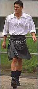 "21st Century Kilts - ""Bravehearts in Kilts Against Trouser Tyranny:  Why men should be free to wear kilts and other kilt-like clothing."" - An interesting perspective related to our cultural biases toward men in kilts [vs. men in trousers], etc."