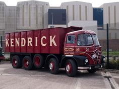 1964  FODEN S21. I've lost count of how many of these I loaded in the late 60's and early 70's