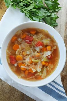 I decided to do the 7 Day Detox Cabbage Soup for the simple reason of my inflammation to my spine during the summer months. Detox the body in 7 days. Detox Diet Drinks, Diet Detox, Cleanse Diet, Stomach Cleanse, Vegan Detox, Detox Salad, Juice Cleanse, Detox Tea, Detox Recipes