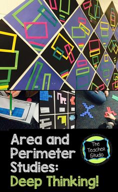 Looking for some ideas about how to teach area and perimeter for deep understanding--and where students construct their own understanding? Check it out!