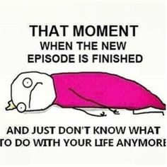 This is going to be me for the next three months...
