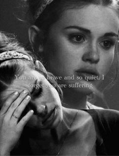 Lydia Martin is strong person in teen wolf, she is strong then we see:3 :3