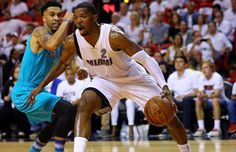 #Heat became the 1st team to score 115+ pnts in back 2 back playoff games who in 95-96? www.nbabasketballquizgame.com
