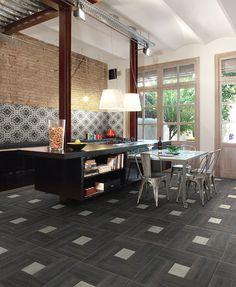 INSIDE | Ceramiche Fioranese piastrelle in gres porcellanato per pavimenti esterni e per rivestimenti interni.