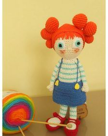 In this article I share you amigurumi orange flower doll free crochet pattern. Amigurumi Tutorial, Crochet Patterns Amigurumi, Amigurumi Doll, Crochet Toys, Free Crochet, Crochet Fish, Hello Ladies, Stuffed Toys Patterns, Slip Stitch