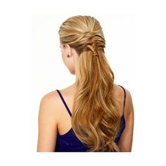 Hair Ideas for Prom - Prom Hair Tips - Seventeen ❤ liked on Polyvore