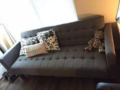 Geek Dad:Inspiration Couch - New Modern Futon (needs a little fixing)