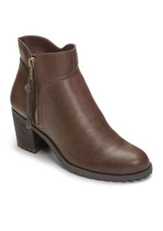 AEROSOLES Brown Convincing Bootie