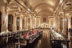 Los Angeles Greek Wedding from Braedon Photography City Wedding Venues, Wedding Themes, Wedding Ideas, Wedding Decor, Wedding Reception, Uplighting Wedding, Downtown Hotels, Greek Wedding, Plan Design