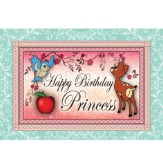 Sweet Forest Princess Party Sign