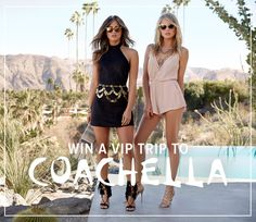 LuLu*s is giving away a weekend getaway for two to Coachella Music Festival 2016!