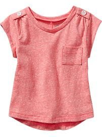 Hi-Lo Tees for Baby