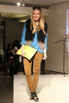 #leopard#denim and fur