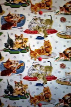 KITTENS & MOMS-BLUE-- PADDED COVER FOR 18X49 IRONING BOARD #CUSTOMMADEIRONINGBOARDCOVER Ironing Board Covers, Kittens, Desserts, House, Ideas, Food, Cute Kittens, Tailgate Desserts, Deserts