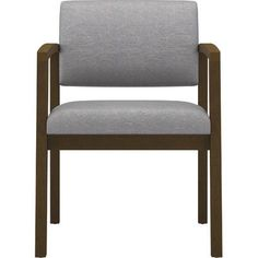 Lesro Lenox Guest Chair Frame Finish: Walnut, Fabric: Axis - Paprika