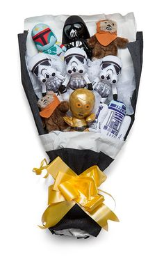 Just In Time For Valentine's Day Star Wars Bouquet - Geek Decor