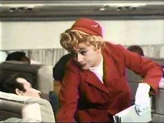 Friday Funny: I Love Lucy as a Flight Attendant, Part I - http://theforwardcabin.com/2014/11/07/friday-funny-love-lucy-flight-attendant-part/