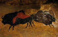 Lascaux - Taureau noir et rouge