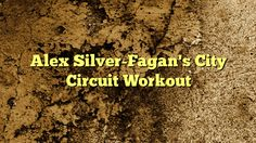 awesome Alex Silver-Fagan's City Circuit Workout,    Artist, actress, dancer, singer—Alex Silver-Fagan did it all. But when life took over and her myriad passions started to feel like jo...,http://90daynewbody.com/alex-silver-fagans-city-circuit-workout/