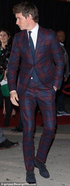 Eddie Redmayne on the red carpet for The Danish Girl premier 11/20/15