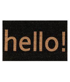 hello! door mat