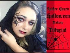 Spider Queen - Halloween Makeup Tutorial