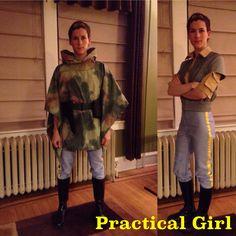 Leia Endor costume & Endor Trooper Leia - Finished by *Verdaera on deviantART | Star wars ...