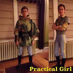 Leia Endor costume
