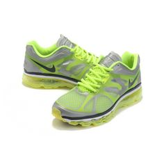 Cheap and High quality Nike Air Max 2012 Men's Gray Green on sale