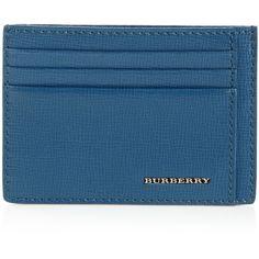 Burberry Card Holder Blue