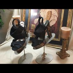 Charlotte Russe  Hot Looking Shoes Check out these Charlotte Russe shoes.  They are in great shape.  No flaws. Charlotte Russe Shoes Heels