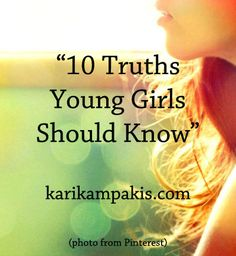 10 truths young girls should know