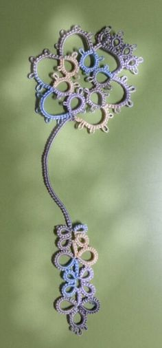 Tatting  bookmark