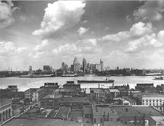RW emigrated to Ontario, Canada in the and this view would have been familiar to him; it is old Detroit skyline seen from Windsor Ontario Canada Downtown Skyscrapers River Black and White Historic Photography Photo Print). Detroit Skyline, Detroit Rock City, Detroit Area, Detroit News, Detroit Ruins, Metro Detroit, State Of Michigan, Detroit Michigan, Michigan Travel
