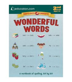 Interesting and informative, the Wonderful Words Book offers to build your kids… #funny Hashtags: #Majestic #Grammar