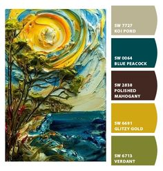 Paint colors from Chip It! by Sherwin-Williams. Justin Gaffrey. ChipCard by Reni Apostolova.