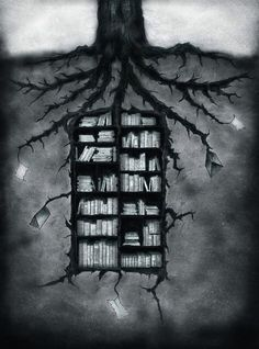 interesting...first is the tree...then the pulp...then the paper...then the books...normally