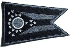 Patch Squad Men's Tactical State Patch Ohio