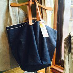 Ambatalia Selvedge Denim Basket Bag