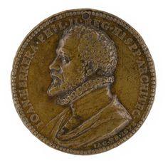 Jacopo da Trezzo, Juan de Herrera, 1578. Medalla de bronce, 50 mm diámetro.jpg (2466×2362)