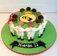 Real Madrid football cake