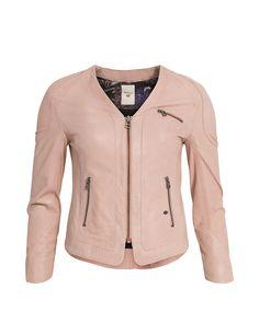 MOS MOSH // #11 Zip Leather Jacket