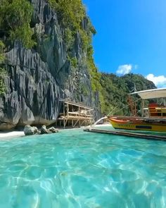 Crystal clear waters at Banol Beach in the Philippines 💦 Beautiful Places To Travel, Beautiful Beaches, Cool Places To Visit, Beautiful Lyrics, Romantic Travel, Vacation Places, Dream Vacations, Dream Vacation Spots, Nature Photography