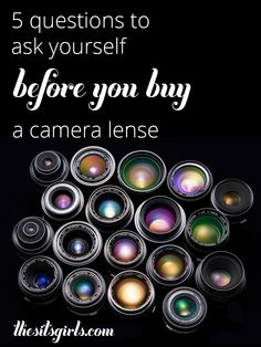 An overview of the different types of camera lenses and great tips about aperture. This is the guide you need to read before buying a camera lens.