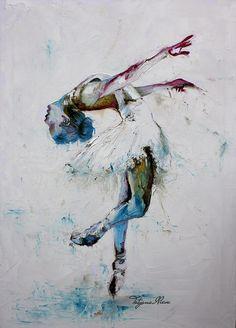 Silencio, Oil painting by Tatyana Ilieva | Artfinder