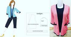 """Last project.. #design  #fashiondesigners #ootd #2015 #tanahabang #localdesigners #fashion #casual #outwear #readytowear #ayun #diy"""